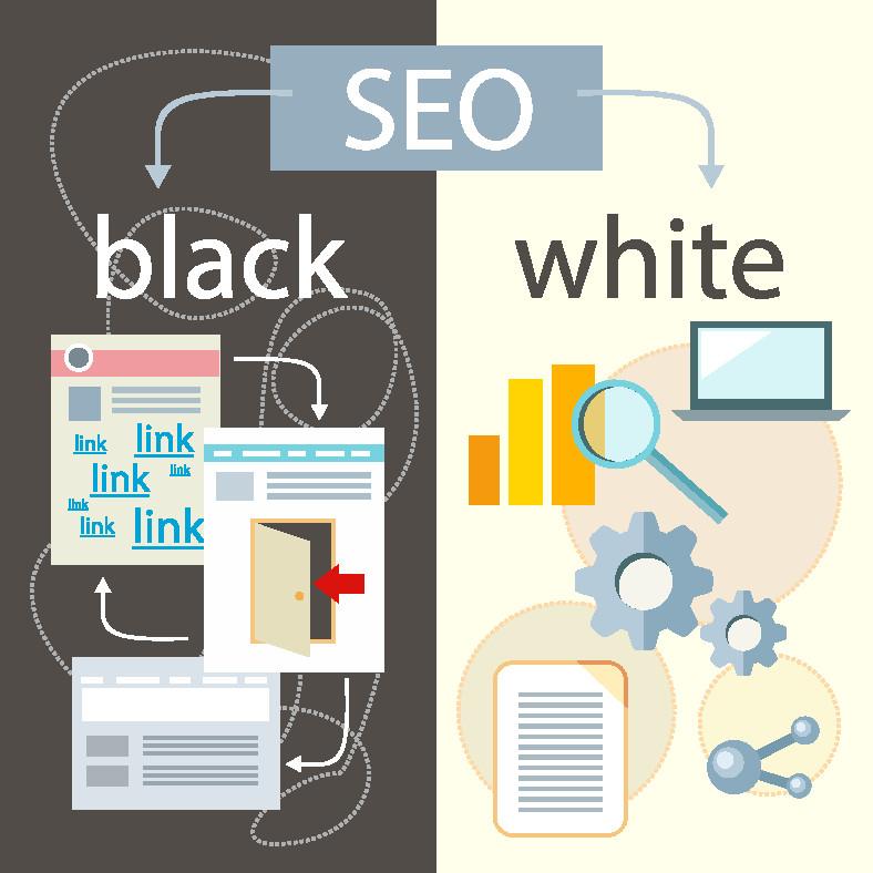 Es gibt Black und White SEO Methoden.