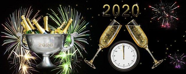 Wir wünschen Ihnen ein frohes neues Jahr 2020!