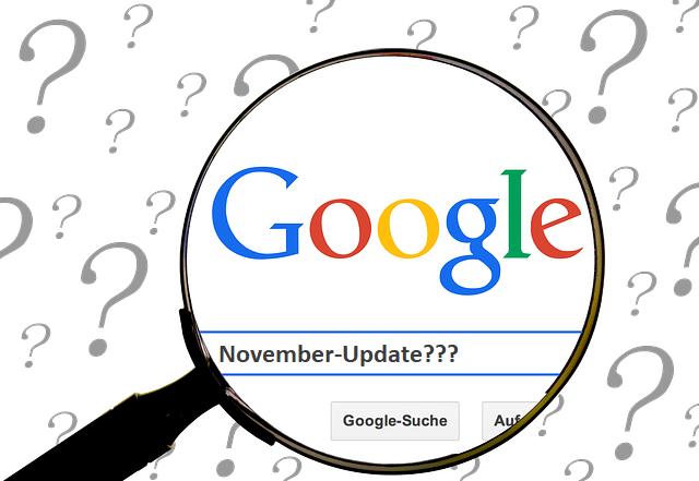 Gab es ein Google Update im November 2019?