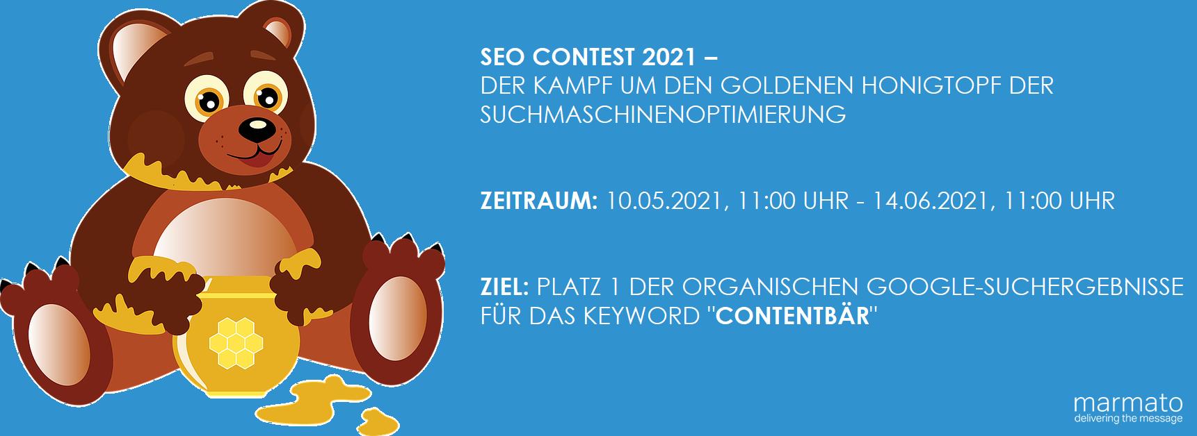 Contentbär SEO Contest, wir sind dabei!